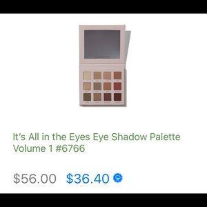 Arbonne eye shadow palette , never opened